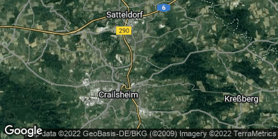 Google Map of Crailsheim