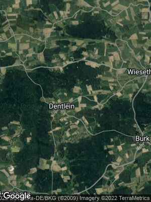 Google Map of Dentlein am Forst