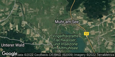 Google Map of Muhr am See