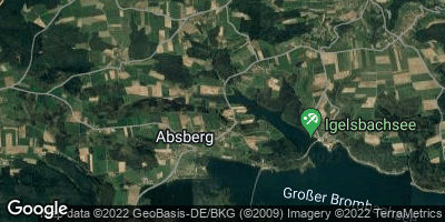 Google Map of Absberg