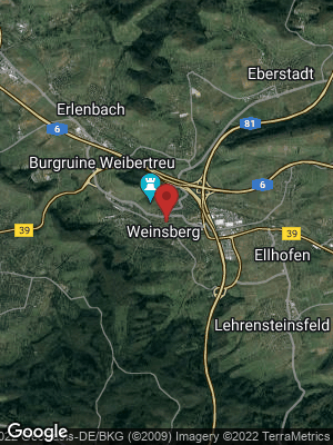 Google Map of Weinsberg