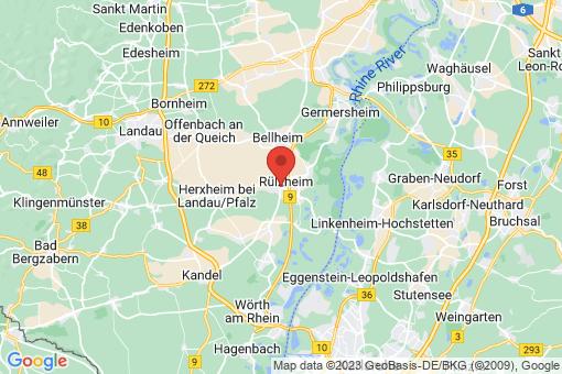 Karte Rülzheim