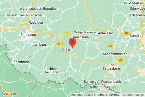 Karte Erfweiler