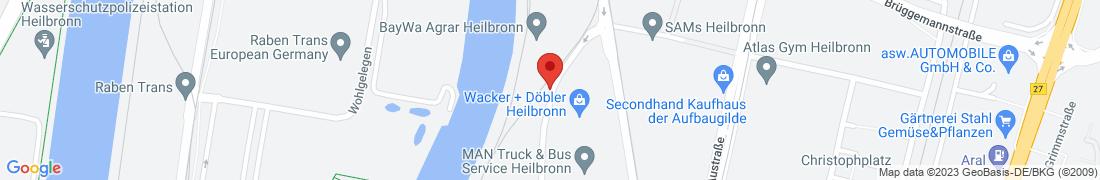 BayWa AG Heilbronn Anfahrt