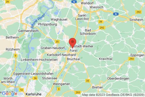Karte Forst