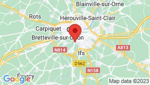 Carte de localisation du centre de contrôle technique FLEURY SUR ORNE