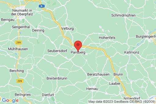 Karte Parsberg