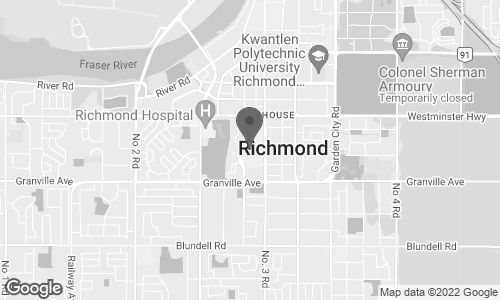Map of 1420 A - 6551 No. 3 Road in Richmond
