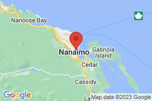 Map of Nanaimo