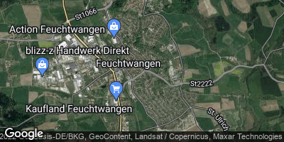 Google Map of Feuchtwangen