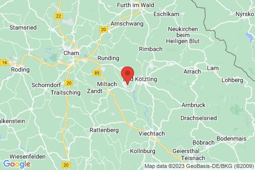 Karte Blaibach