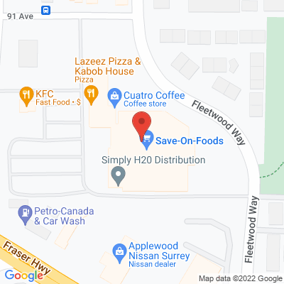 Surrey 152St Physiotherapy & Sports Injury Clinic Static Google Map