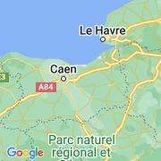 Le thème La Normandie sur notre carte histoire-géo