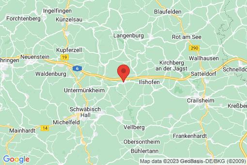 Karte Wolpertshausen