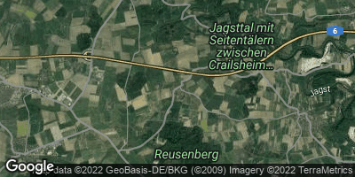 Google Map of Triensbach