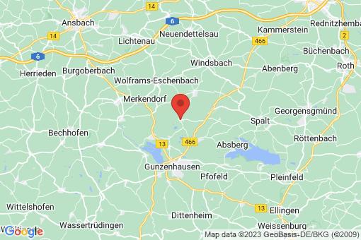 Karte Haundorf