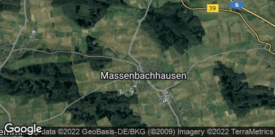 Google Map of Massenbachhausen