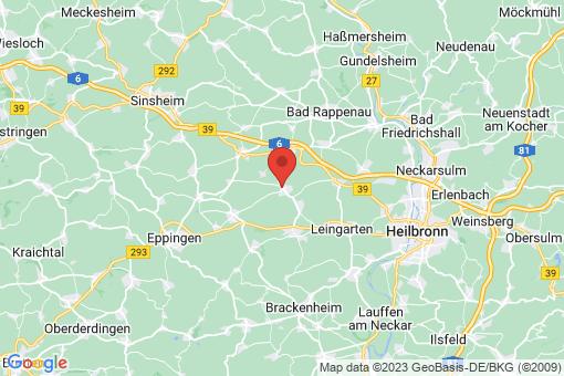 Karte Massenbachhausen