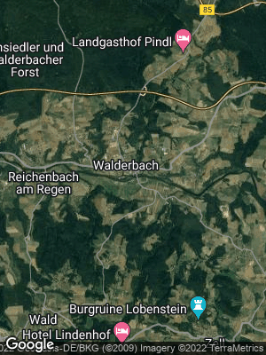 Google Map of Walderbach