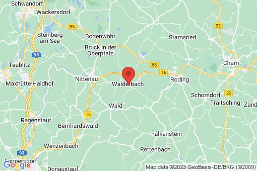 Karte Walderbach