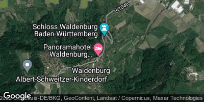 Google Map of Waldenburg