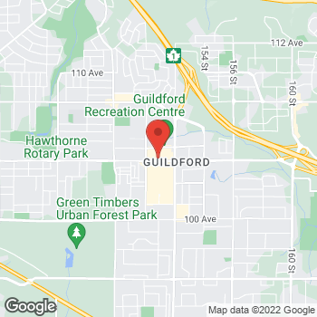 Map of LensCrafters at 10355 152 Street, Surrey, BC V3R 7C1