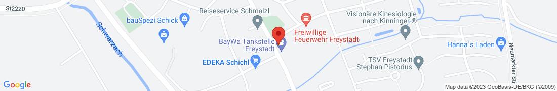 BayWa AG Freystadt Anfahrt