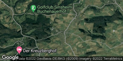 Google Map of Hilsbach