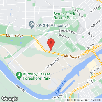 Map of Staples Print & Marketing Services at 5821 Marine Way, Burnaby, BC V5J 0A6