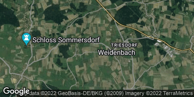 Google Map of Weidenbach