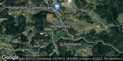 Google Map of Hohenfels