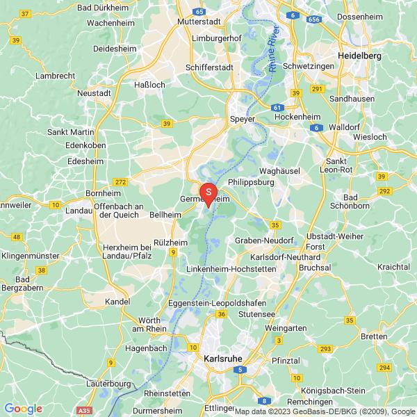 Discgolf am Germersheimer Baggersee