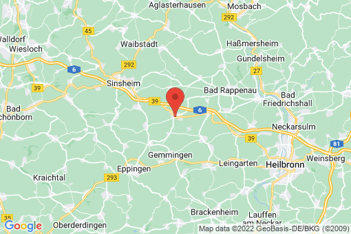 Karte Kirchardt