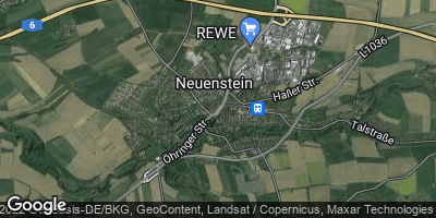 Google Map of Neuenstein
