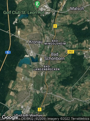 Google Map of Bad Schönborn