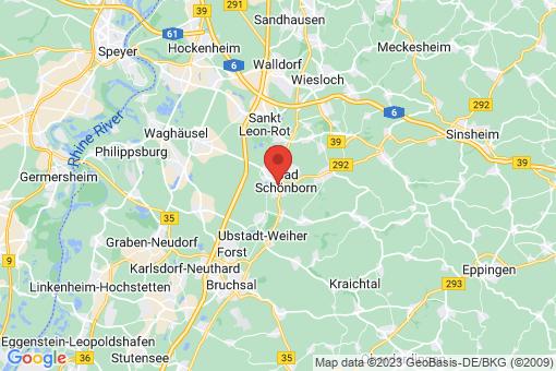 Karte Bad Schönborn