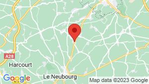 Carte de localisation du centre de contrôle technique AMFREVILLE LA CAMPAGNE