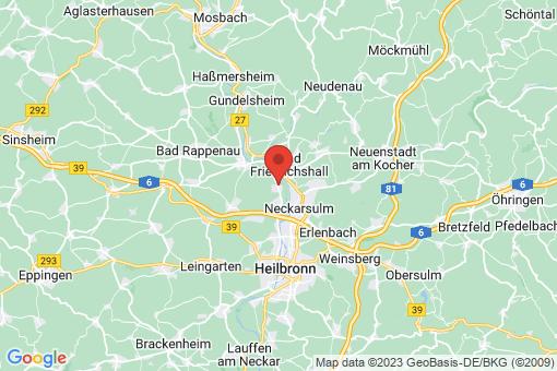 Karte Untereisesheim