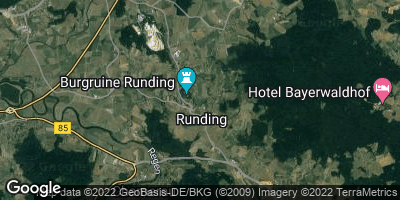 Google Map of Runding bei Cham