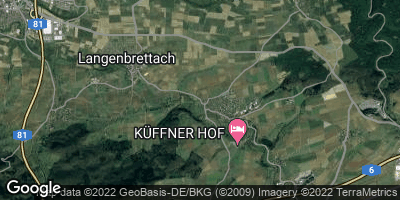 Google Map of Langenbrettach