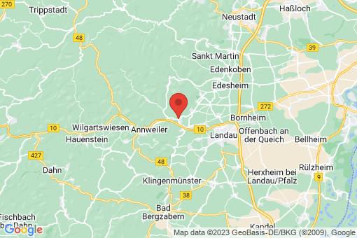 Karte Albersweiler
