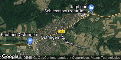Google Map of Östringen
