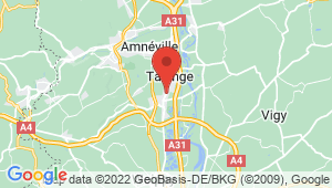Carte de localisation du centre de contrôle technique MAIZIERES LES METZ
