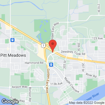 Map of Staples Print & Marketing Services at 20050 Lougheed Highway, Maple Ridge, BC V2X 0P5