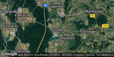 Google Map of Kronau