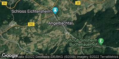 Google Map of Angelbachtal