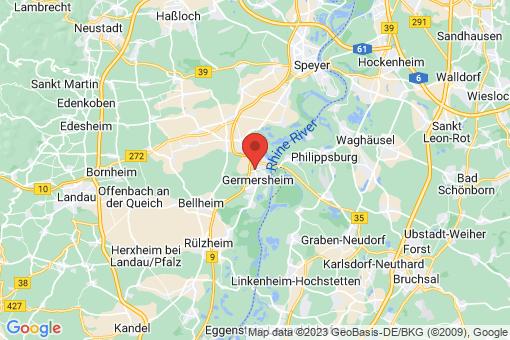 Karte Germersheim