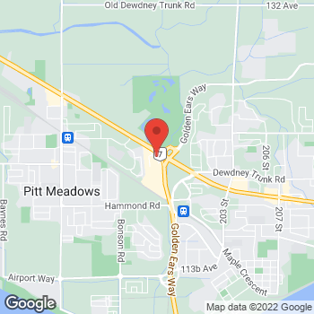 Map of Tim Hortons at 19800 Lougheed Hwy, Pitt Meadows, BC V3Y 2W1