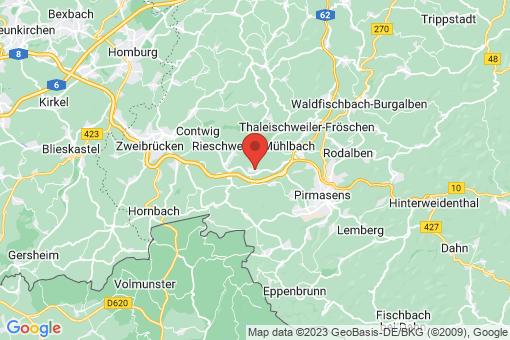 Karte Nünschweiler