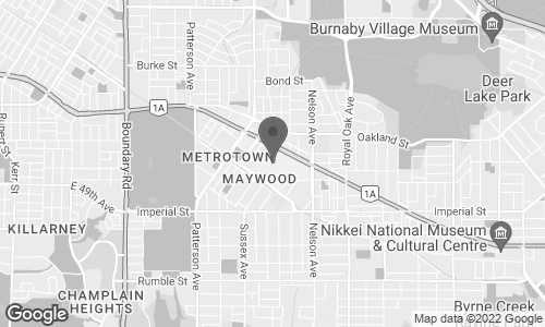 Map of 2205-4700 Kingsway in Burnaby
